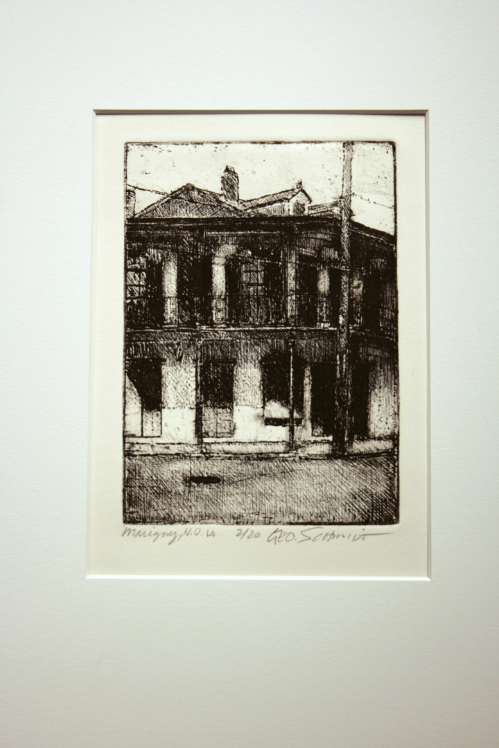 Faubourg Marigny :: Edition 20 on rag paper