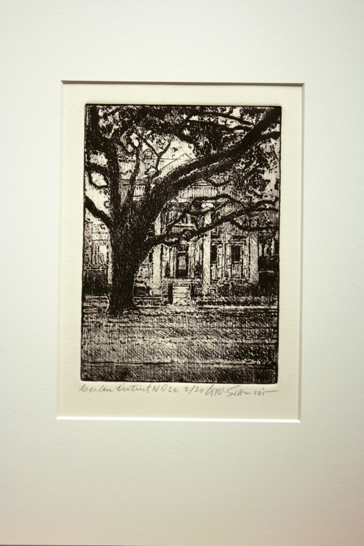 Garden District :: Edition 20 on rag paper