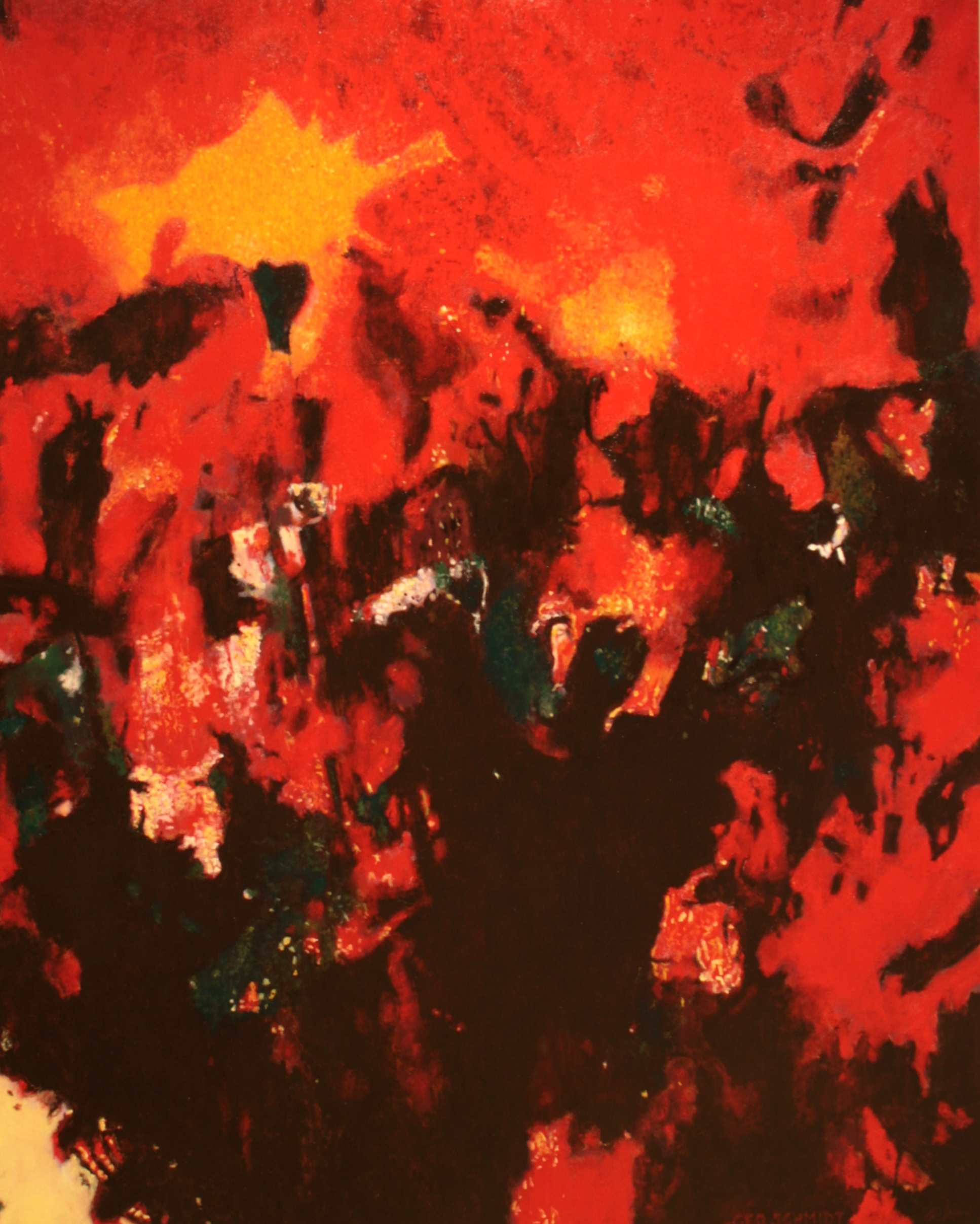 """Big Red 2 - oil on canvas 60""""x 48"""""""
