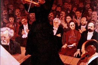 Madame Urto's Concert oil on canvas