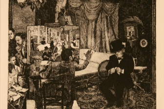 "Degas Painting ""Portaits in a Cotton Office N.O.La. ::"