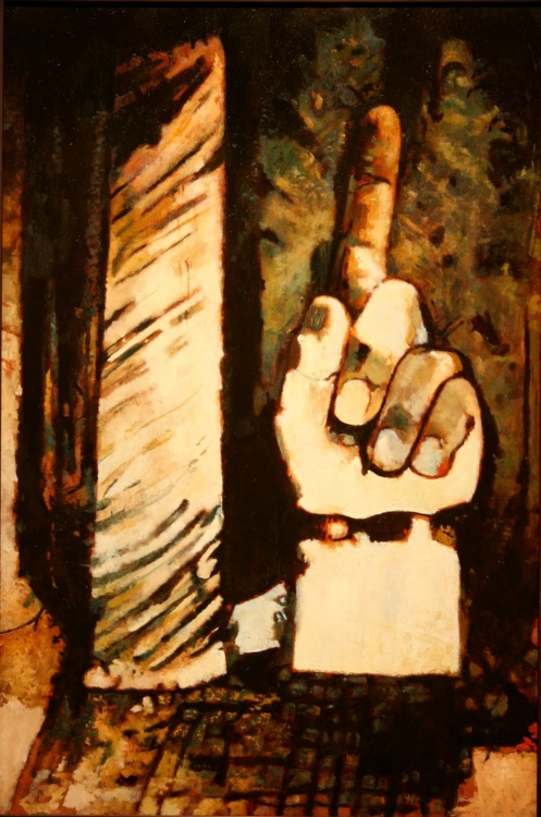 The Hand of Constantine :: Oil on Canvas
