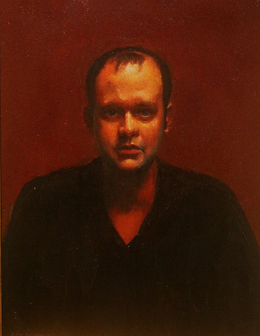Portrait 6  :: Oil on Canvas